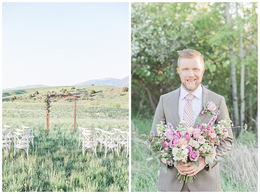 Olivine Fox Bozeman Montana Photographer Foster Creek Farm White Barn Wedding