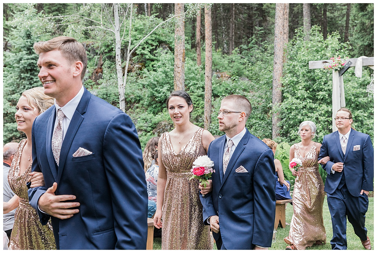 Olivine Fox Montana Wedding Photographer Glacier National Park Wedding and Elopement Mountainside Weddings