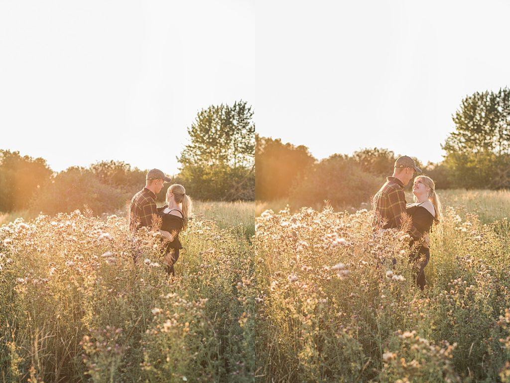 Olivine Fox - Firelight Farm Engagement Session - Bozeman Montana Wedding Photographer - Bozeman Montana Engagment Session - Bozeman Wedding Venue - Montana Barn Wedding