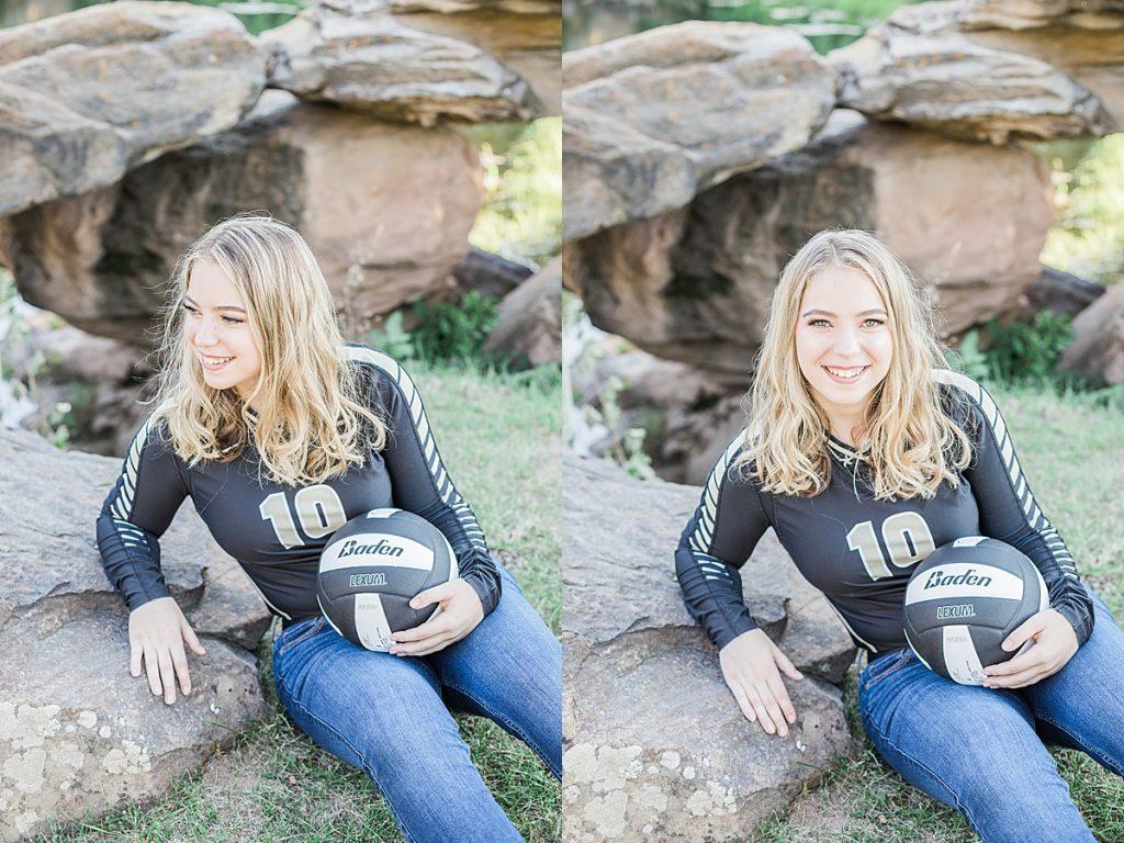 Olivine Fox - Great Falls Montana Senior Portrait Photographer - Fall Senior Portraits - Maryland Photographer - Pennsylvania Photographer - Montana Photographer - Volleyball