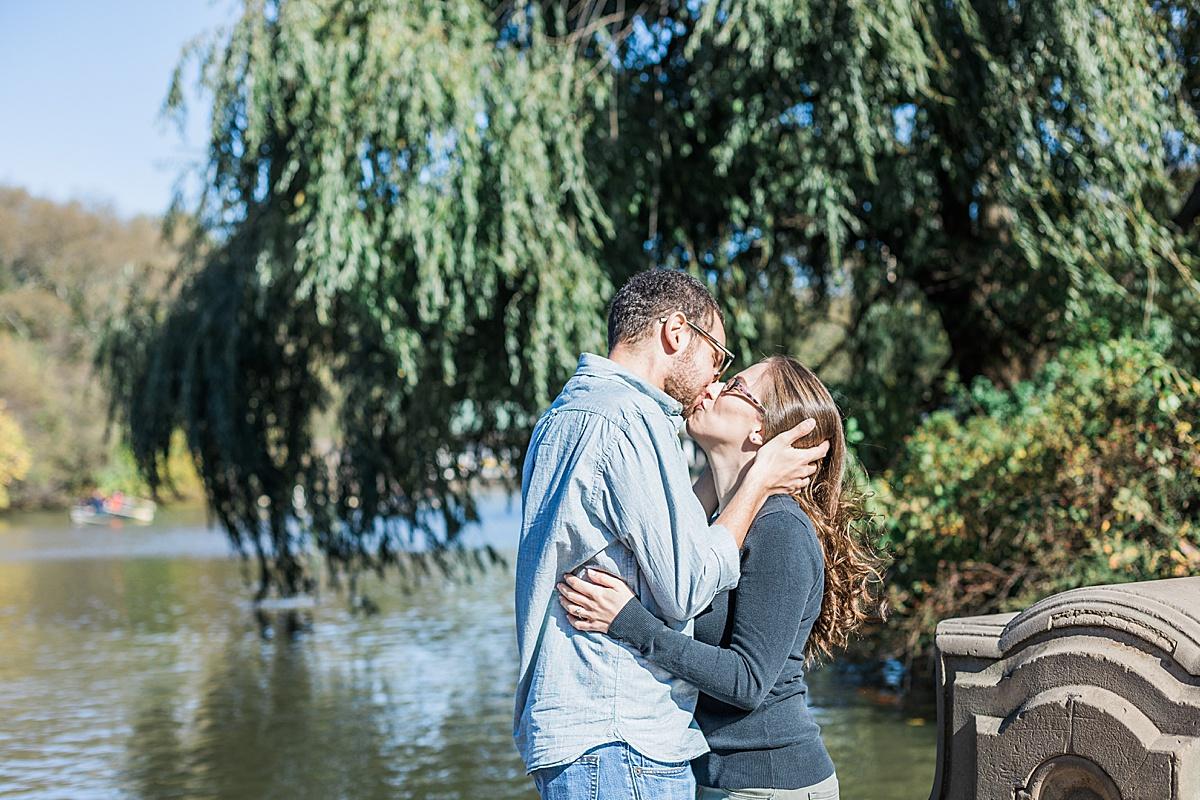 Olivine Fox - Central Park Fall Engagement Session - Maryland Wedding Photographer - Pennsylvania Wedding Photographer - Fall Engagement Session