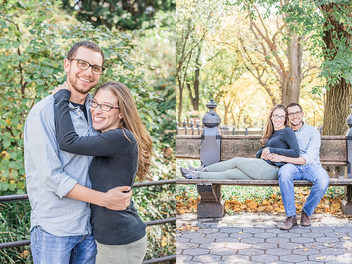 Olivine Fox - Central Park Fall Engagement Session - Maryland Wedding Photographer - Pennsylvania Wedding Photographer - Fall Engagement Session