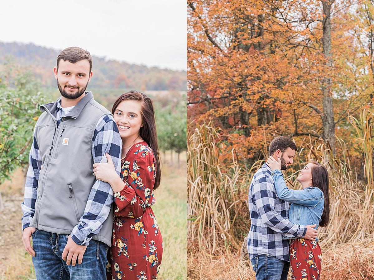Olivine Fox - Gettysburg Engagement Session - Pennsylvania Engagement Photos - Fall Engagement Pictures - Gettysburg Wedding Photographer - Pennsylvania Wedding Photographer