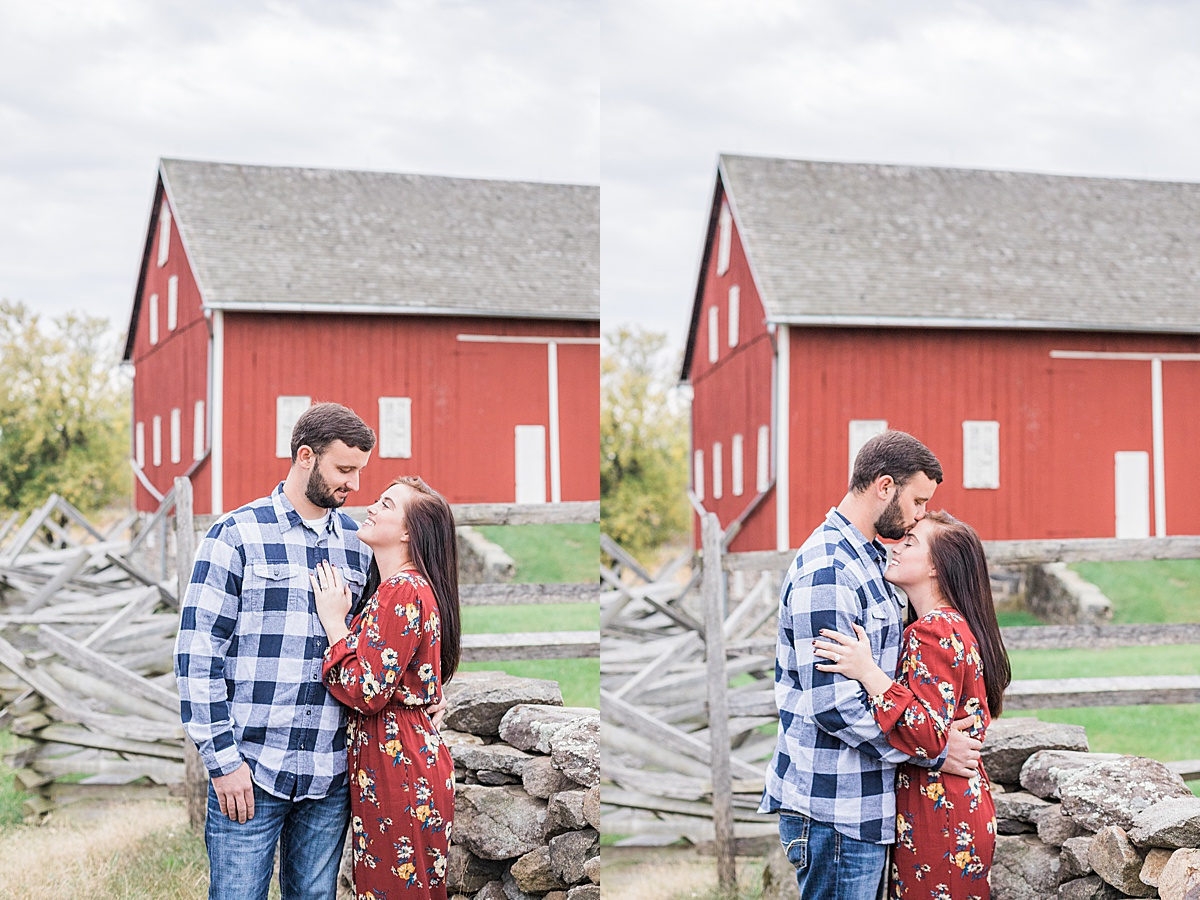 Olivine Fox - Gettysburg Engagement Session - Pennsylvania Engagement Photos - Fall Engagement Pictures - Gettysburg Wedding Photographer - Pennsylvania Wedding Photographer