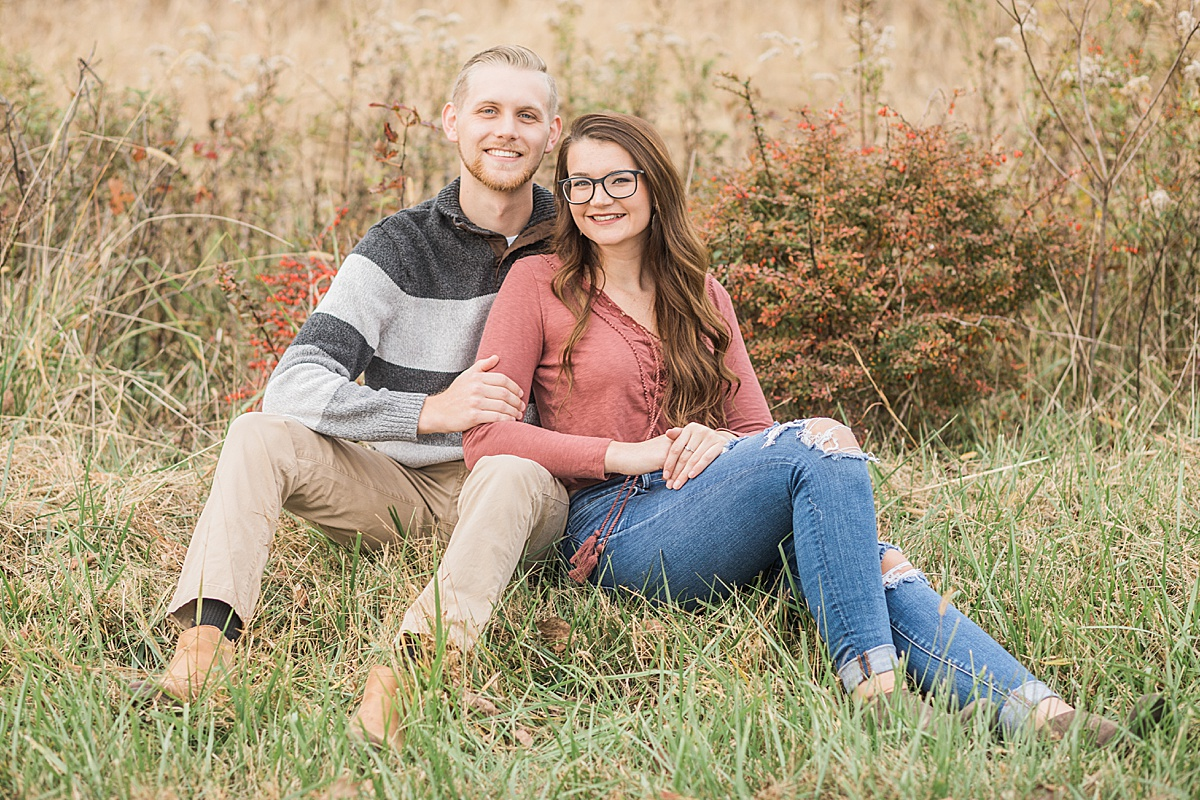 Olivine Fox - Thurmont Maryland Couples Session - Fall - Catoctin Mountains - Frederick County - Springfield Manor and Winery - Country Anniversary Session