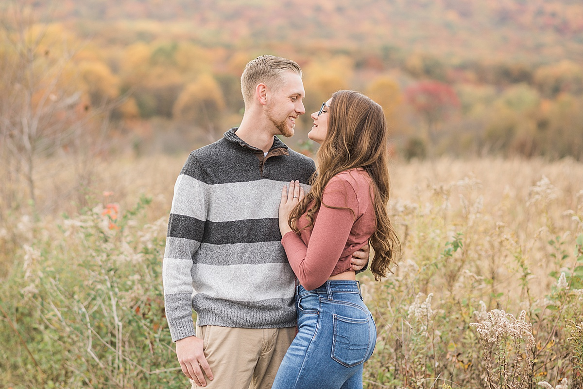 Olivine Fox - Thurmont Maryland Couples Session - Fall - Catoctin Mountains - Frederick County - Springfield Manor and Winery