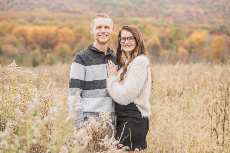 Olivine Fox - Thurmont Maryland Wedding Couples Session - Maryland Wedding Photographer - Country Anniversary Session - Fall
