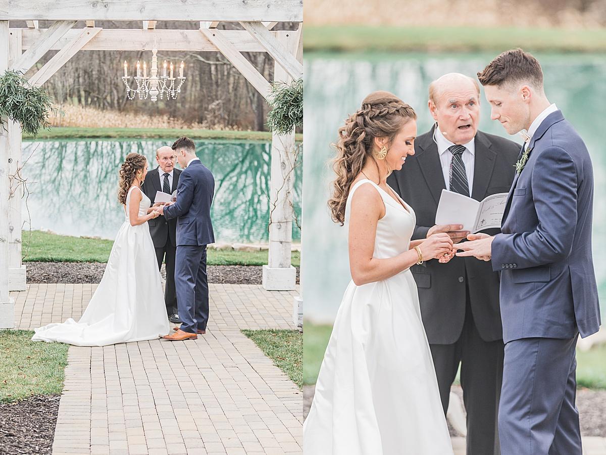 Olivine Fox - White Barn At Lucas Farm Wedding - Fall - Deep Creek - Maryland Wedding Photographer