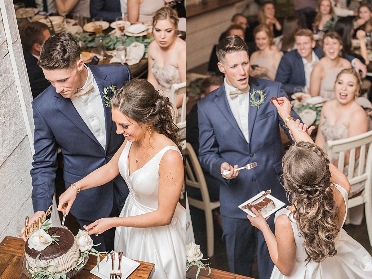Olivine Fox - White Barn At Lucas Farm Wedding - Fall - Deep Creek - Maryland Wedding Photographer - Navy and Blush Wedding