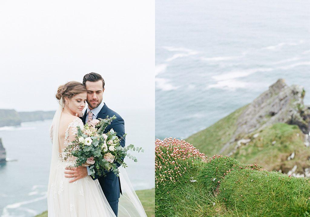 Olivine Fox - Maryland Wedding Photographer - Central PA Wedding Photographer - Ireland - Cliffs Of Moher Elopement