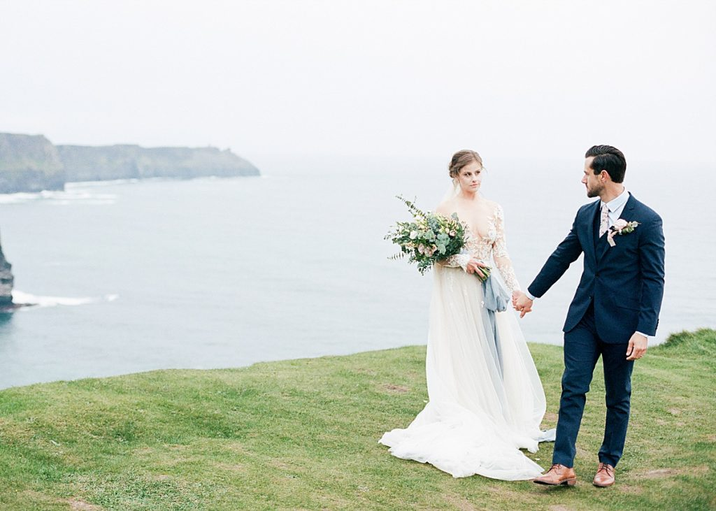 Olivine Fox - Maryland Wedding Photographer - Central PA Wedding Photographer - Ireland - Cliffs Of Moher Elopement