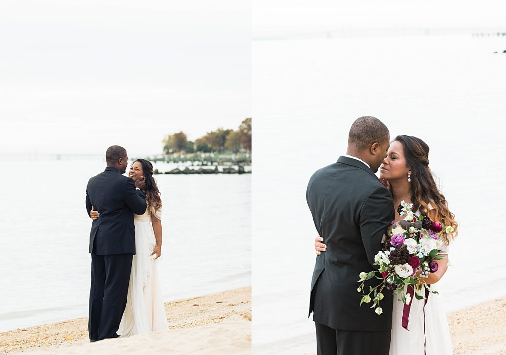 Olivine Fox - Maryland Wedding Photographer - Stevensville Maryland Wedding Venue - Bayside Wedding