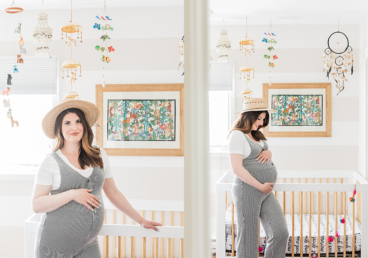 Olivine Fox - Helena Montana Maternity Portrait Photographer - Maternity Photos - At Home Maternity Pictures