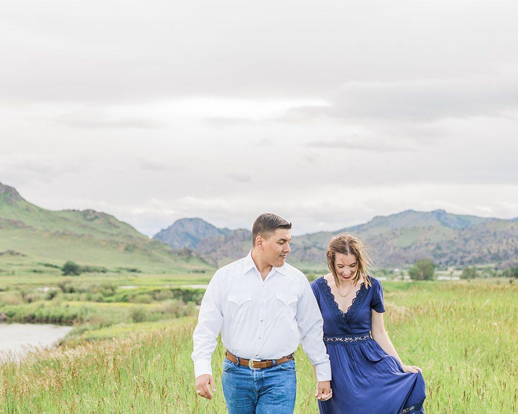 Olivine Fox - Cascade Montana Portrait Photography - Montana Wedding Photographer - Great Falls - Helena