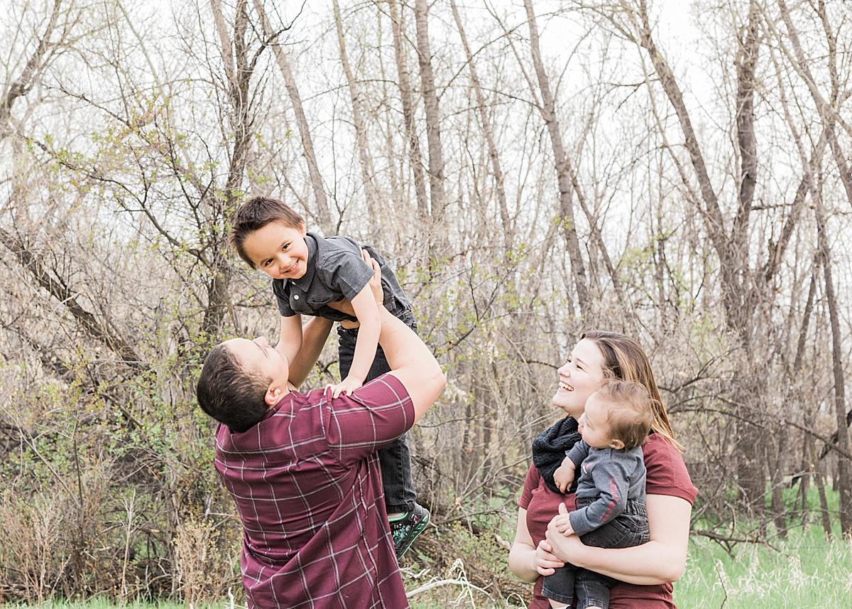 Olivine Fox - Montana Family Photographer - Family Portrait Photographer - Great Falls Montana Photographer