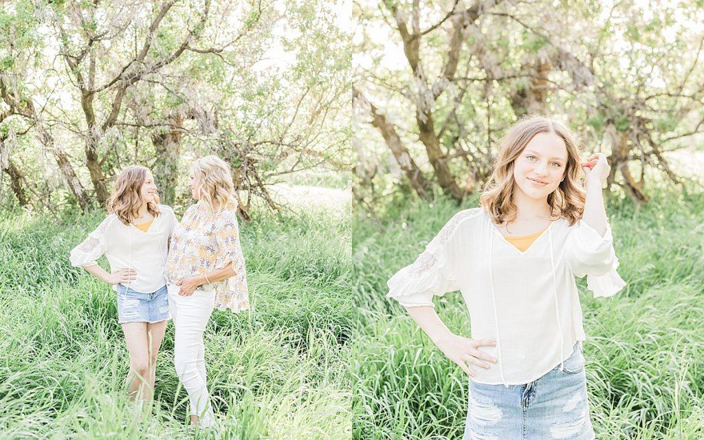 Olivine Fox - Montana Portrait Photographer - Family Portrait Photographer - Great Falls Montana Photographer - Outdoor Family Photos - Country Family Photos - Summer Family Photos - Family Photos Outfit Inspiration