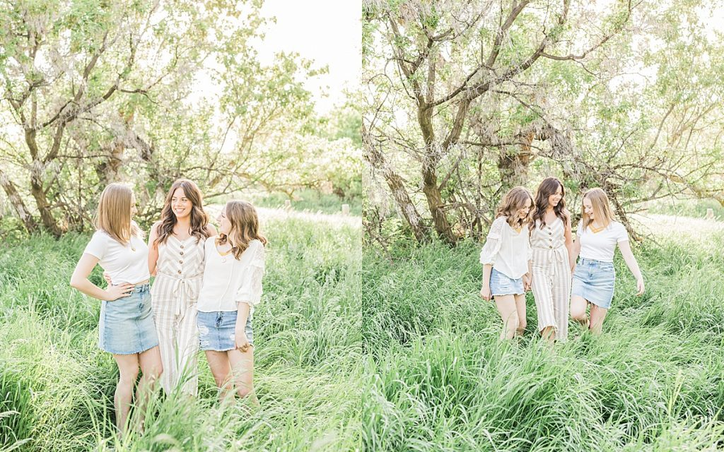 Olivine Fox - Montana Portrait Photographer - Family Portrait Photographer - Great Falls Montana Photographer - Outdoor Family Photos - Country Family Photos - Summer Family Photos - Family Photos Outfit Inspiration - Sisters Photoshoot