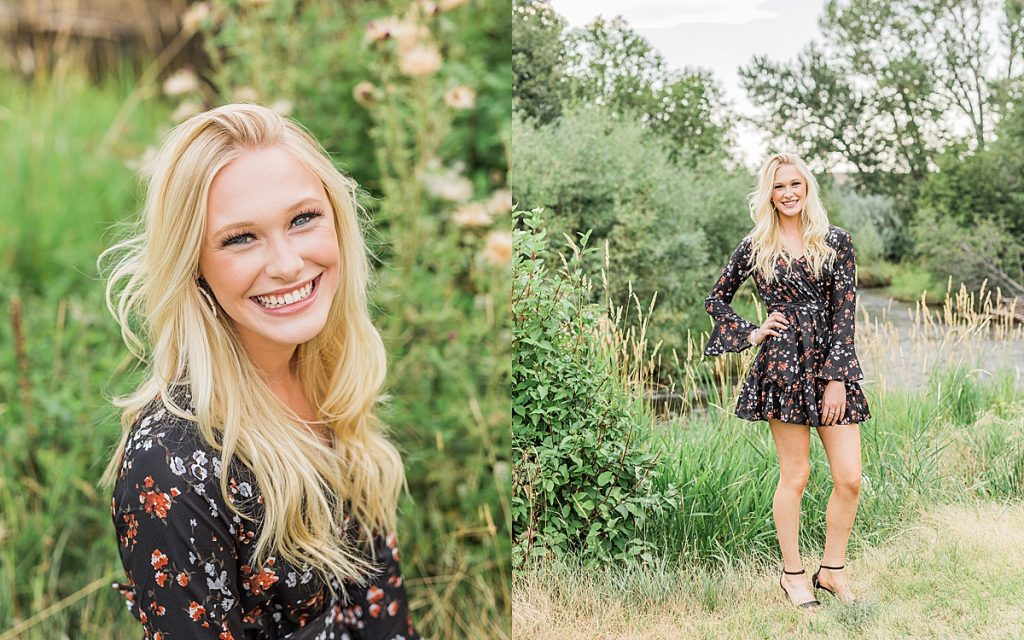 Olivine Fox - Kleffner Ranch - Miss Montana High School Rodeo Queen Senior Pictures - Summer Senior Pictures - Red Barn - Farm Senior Photos