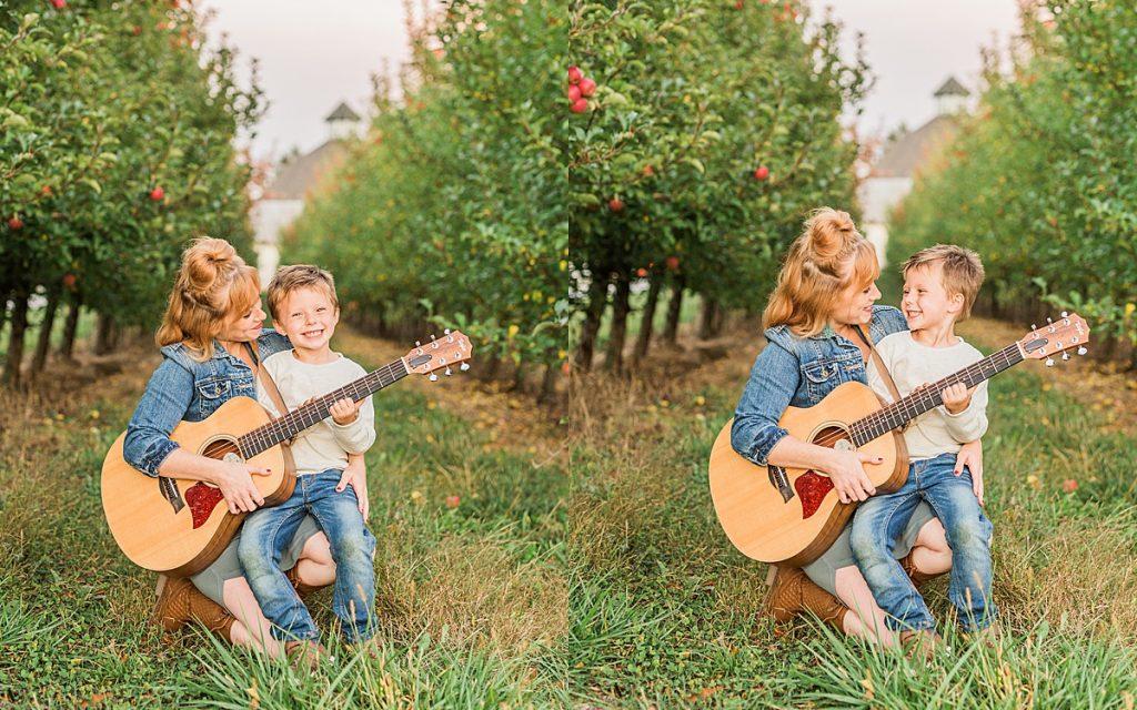 Olivine Fox - Gettysburg Pennsylvania Photographer - Central Pennsylvania Musician Photography - Orchard Photos - Mommy and Me