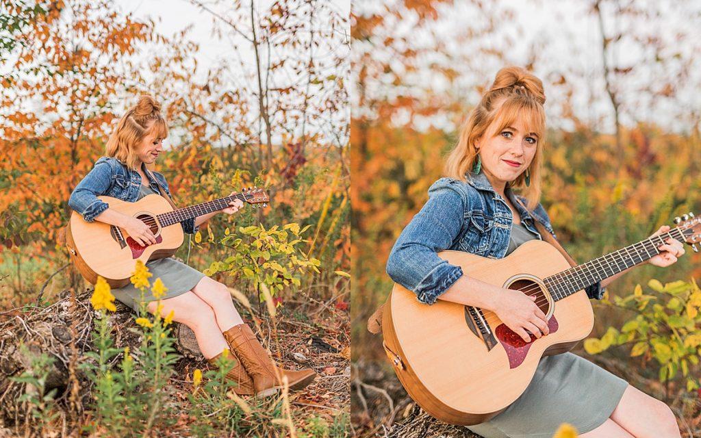 Olivine Fox - Gettysburg Pennsylvania Photographer - Central Pennsylvania Musician Photography - Fall Photoshoot