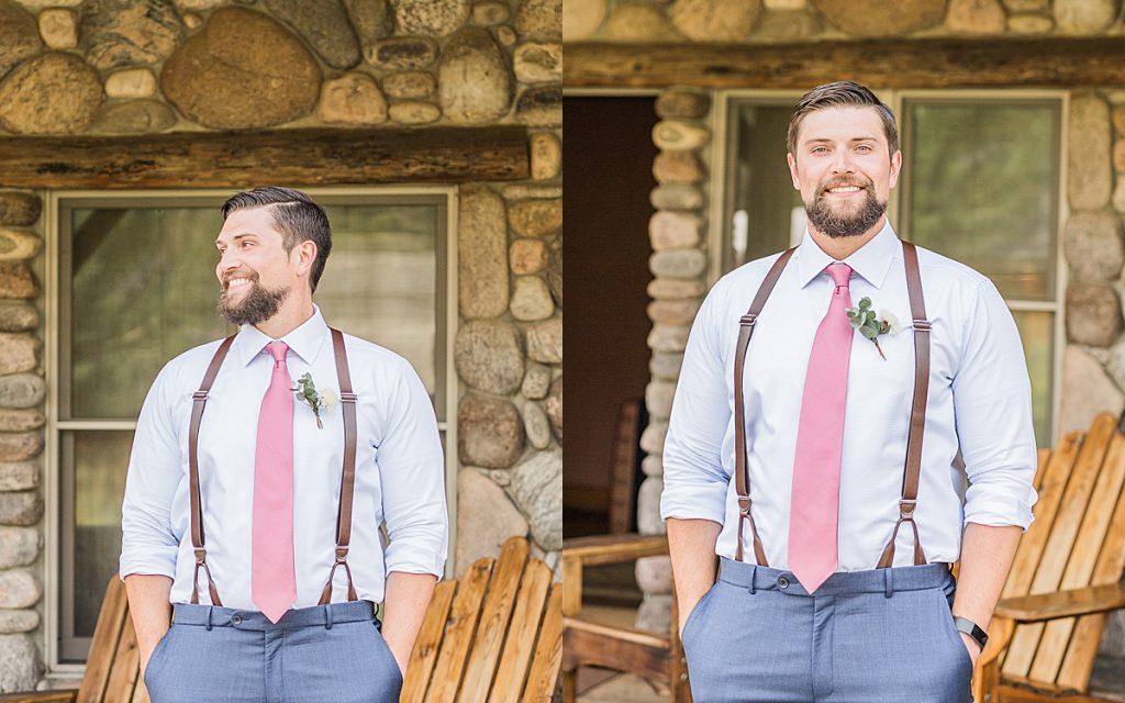 Olivine Fox - Big Sky Montana Elopement Photographer - Bozeman Montana Wedding Photographer - Rainbow Ranch Lodge - Blush and Navy wedding