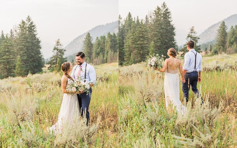 Olivine Fox - Big Sky Montana Elopement Photographer - Bozeman Montana Wedding Photographer - Rainbow Ranch Lodge - Big Sky Summer Wedding Inspiration