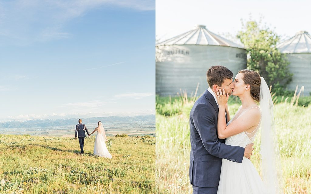 Olivine Fox - Big Yellow Barn - Bozeman Montana Wedding Photographer - Montana Barn Venue
