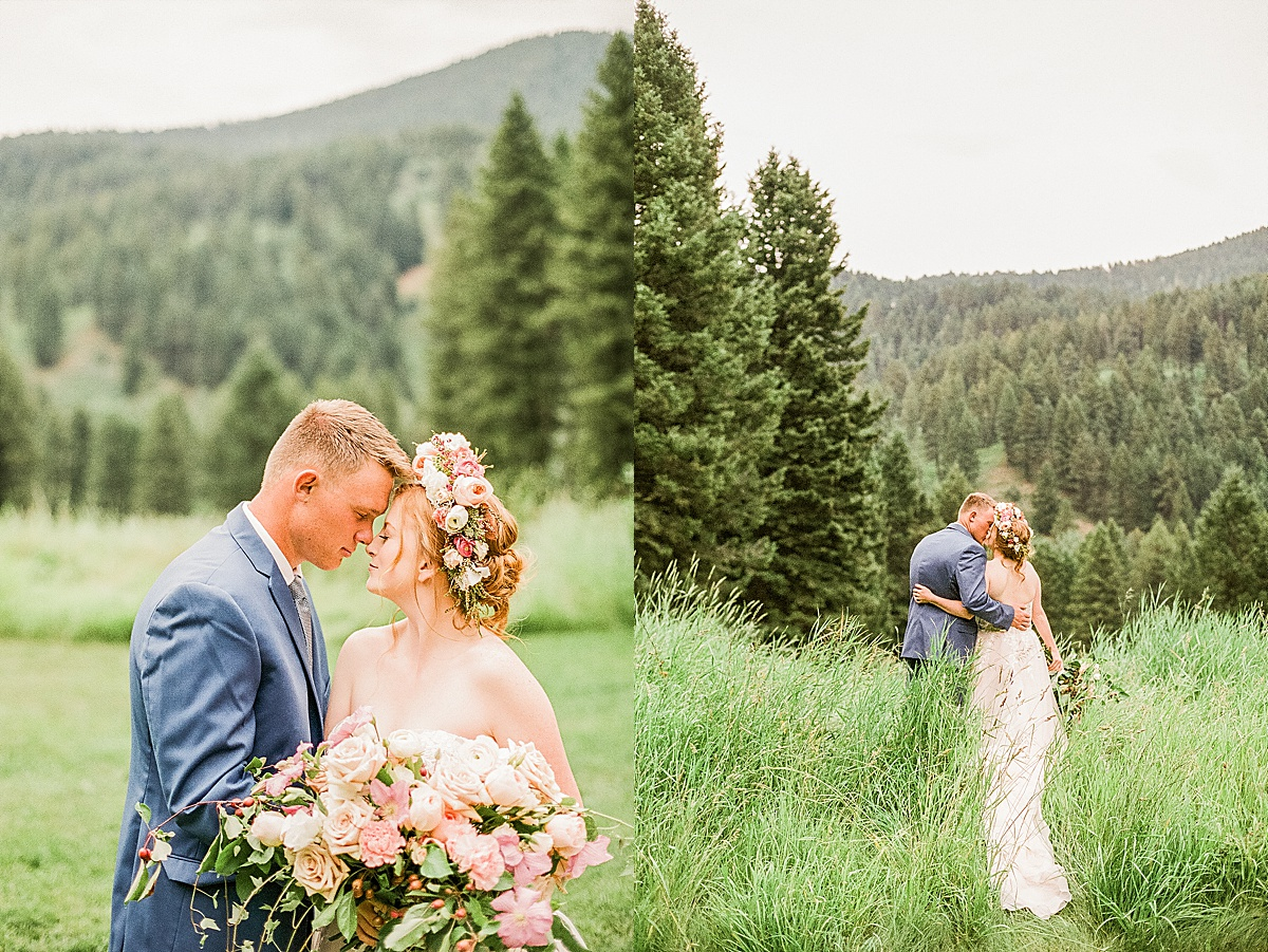 Olivine Fox - Bozeman Montana Wedding Photographer - Woodlands At Cottonwood Canyon Bozeman - Spring Wedding Inspiration - Garden Themed Elopement