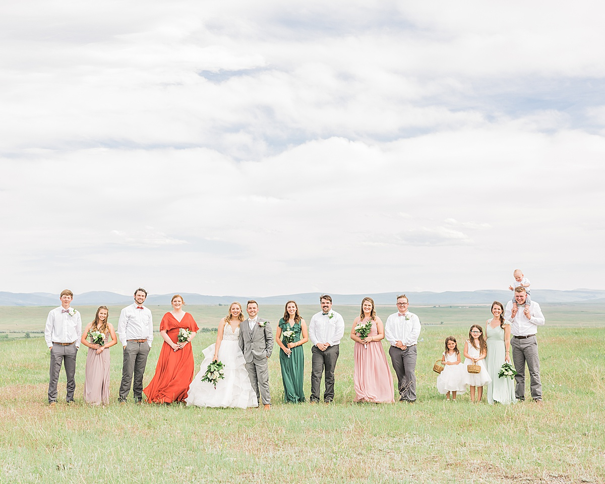 Olivine Fox - Montana Ranch Wedding - Bozeman Montana Wedding Photographer - Montana Summer Wedding - Montana Backyard Wedding - Ranch Wedding Ideas - Intimate Ranch Wedding