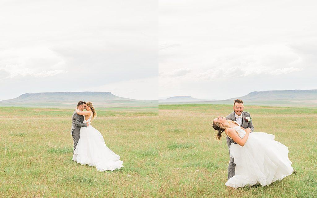 Olivine Fox - Montana Ranch Wedding - Bozeman Montana Wedding Photographer - Montana Summer Wedding - Montana Backyard Wedding - Ranch Wedding Ideas - Intimate Ranch Wedding