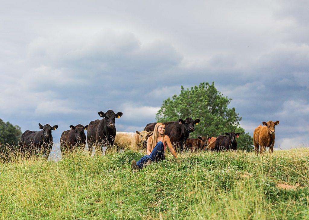 Olivine Fox - Maryland Senior Portrait Photographer - Maryland Farm Senior Pictures - Maryland 4H - Farm Senior Photos - Maryland 4H - Carroll County Maryland 4H - Carroll County Maryland Photographer